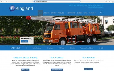 kingland-global-trading-website