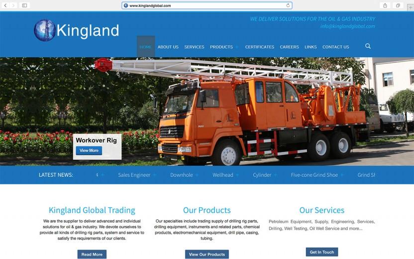 kingland-global-trading-website
