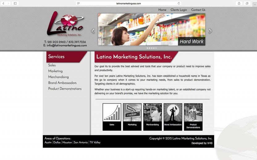 latino-marketing-solutions-website