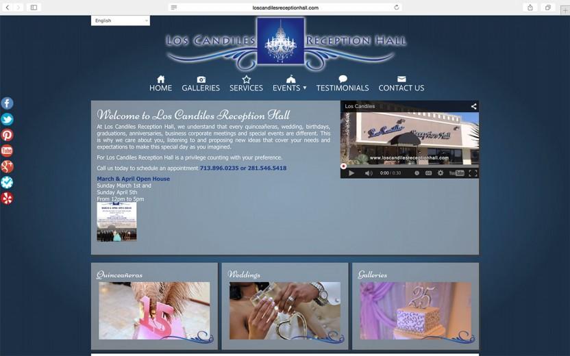 los-candiles-reception-hall-website