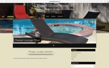powell-global-imports-website