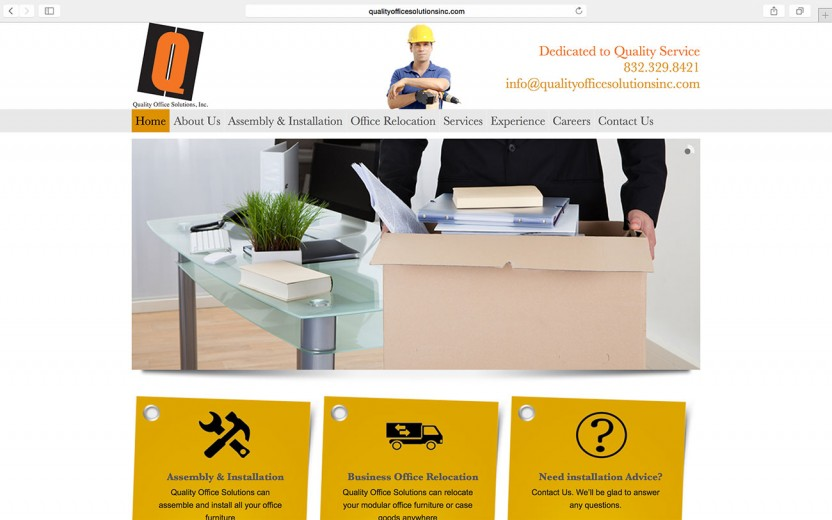 quality-office-solutions-website