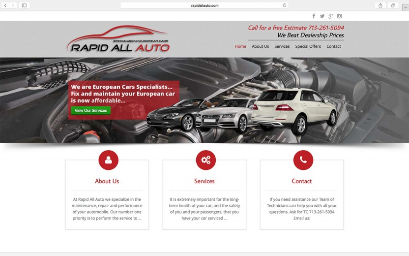 rapid-all-auto-website